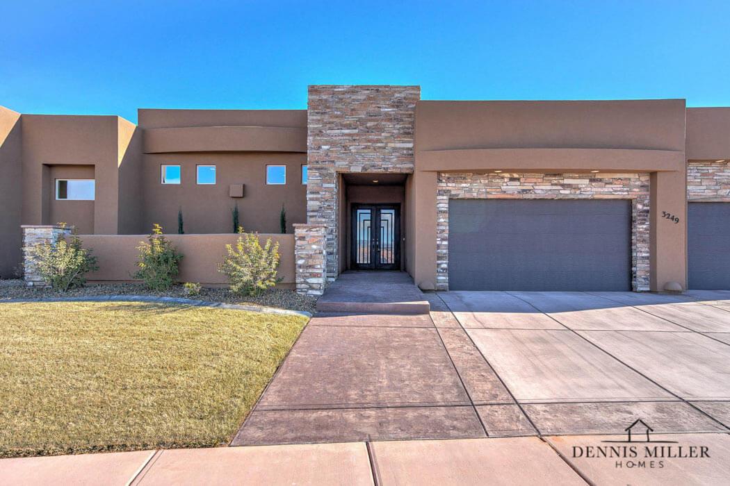 Modern St. George custom home in Southern Utah