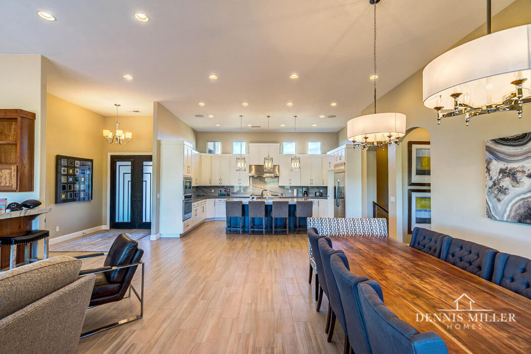 southern utah custom kitchen by St. George home builders DMH