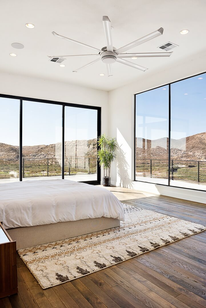 Custom Master Bedroom in Luxury St. George Home