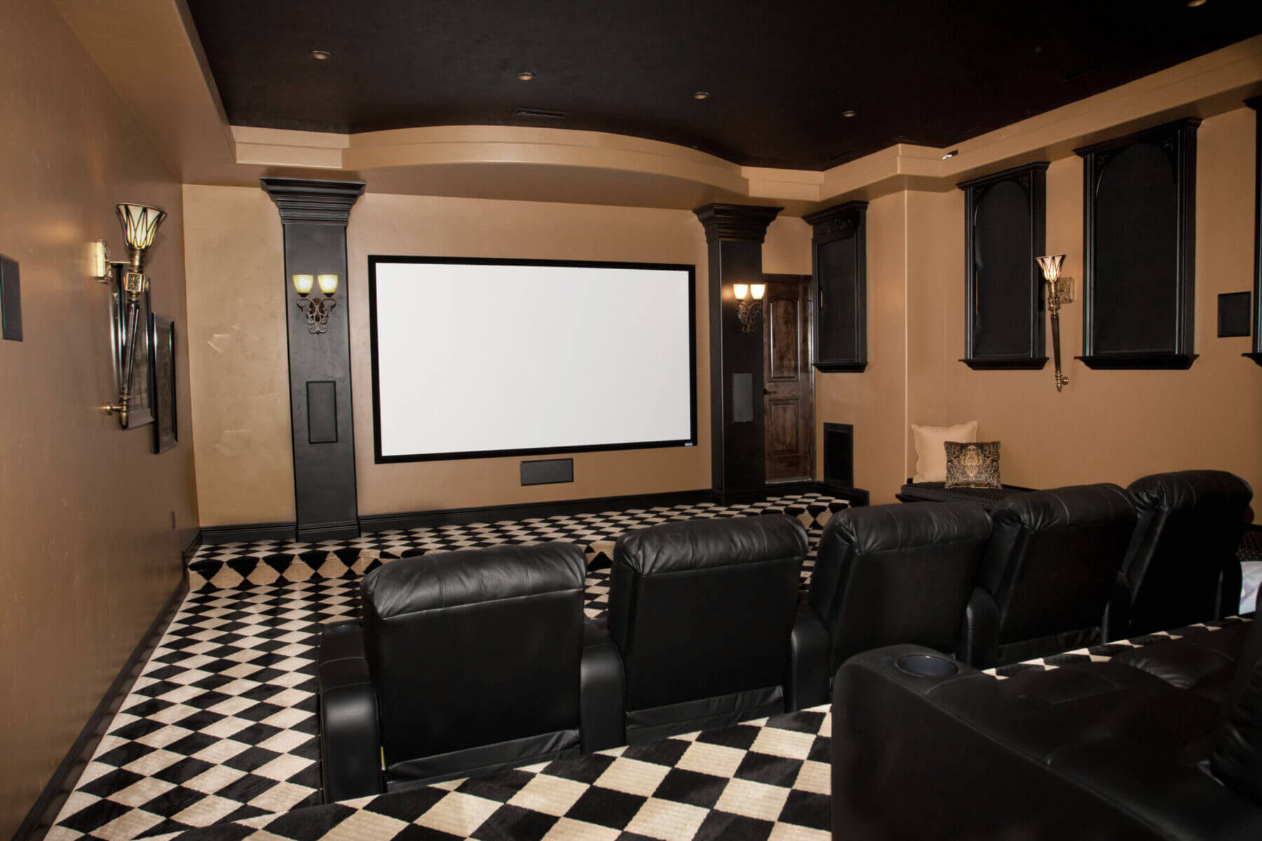 St. George Custom Home Theater